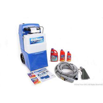 Upright Wide Track Pro Carpet Cleaner with Tools and Shampoo