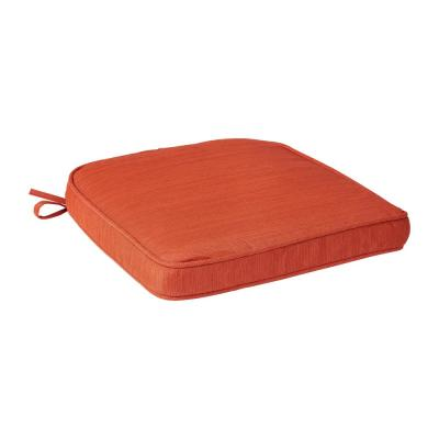 Spring Haven 19 x 19 Outdoor Rocking Chair Replacement Cushion in Orange