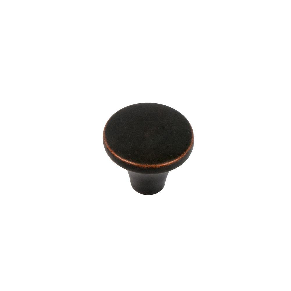 Sumner Street Home Hardware Selma 1-1/8 in. Oil Rubbed Bronze Round Cabinet Knob