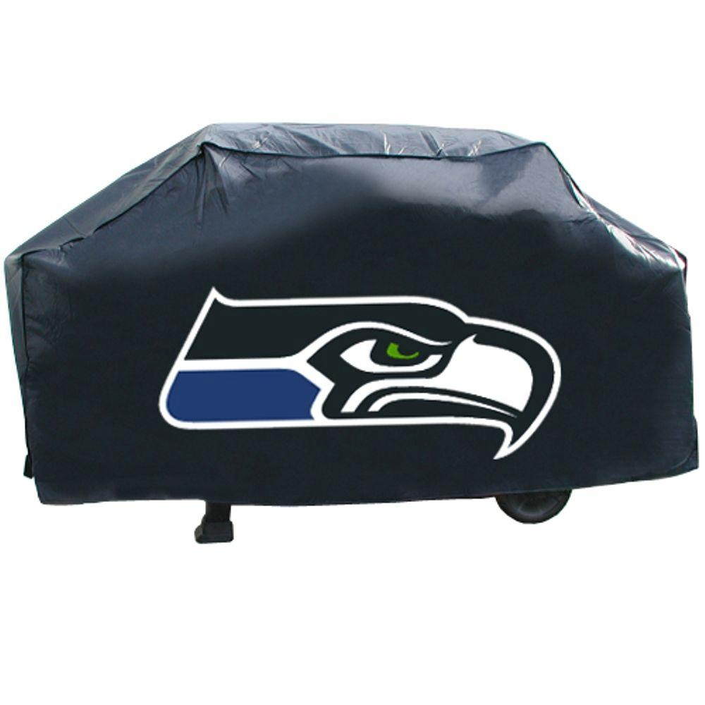 Rico Industries 68 in. NFL Seattle Seahawks Deluxe Grill Cover-DISCONTINUED