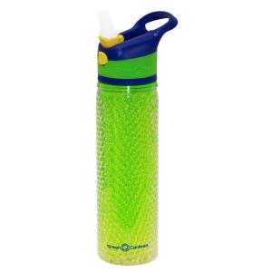 Green Canteen 19 oz. Blue and Green Double Wall Plastic Tritan Hydration Bottle... by Green Canteen