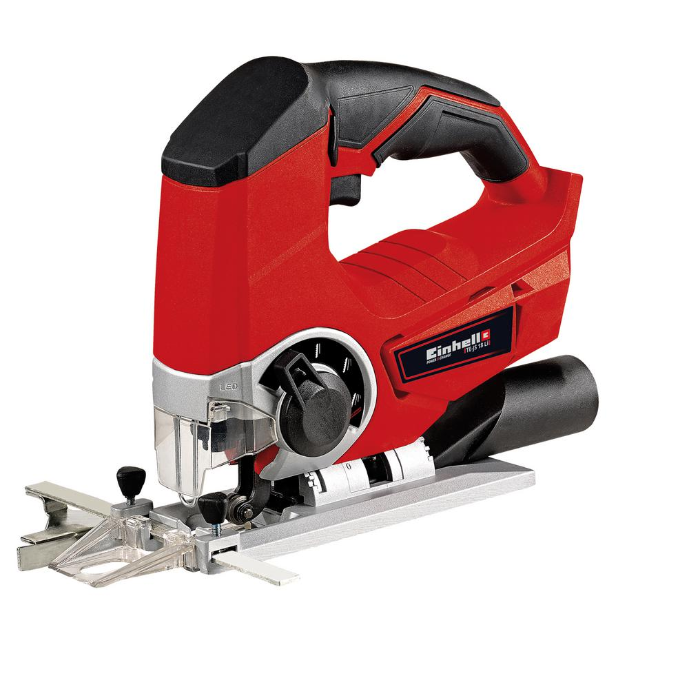 Einhell 18-Volt Variable Speed Power X-Change Cordless Jigsaw Kit with 3.0 Ah Battery Plus Charger