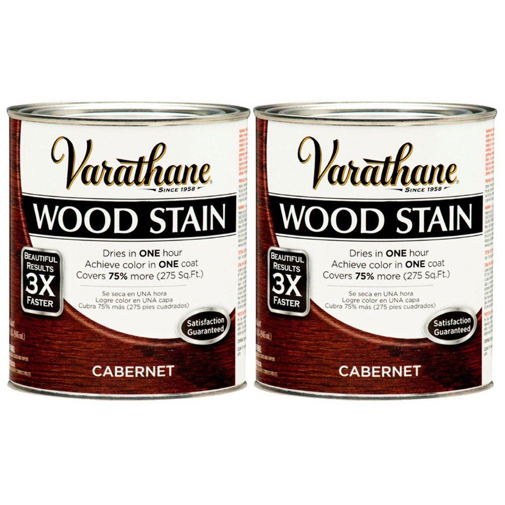Varathane 1 Qt. Cabernet Wood Stain (2-Pack)-DISCONTINUED