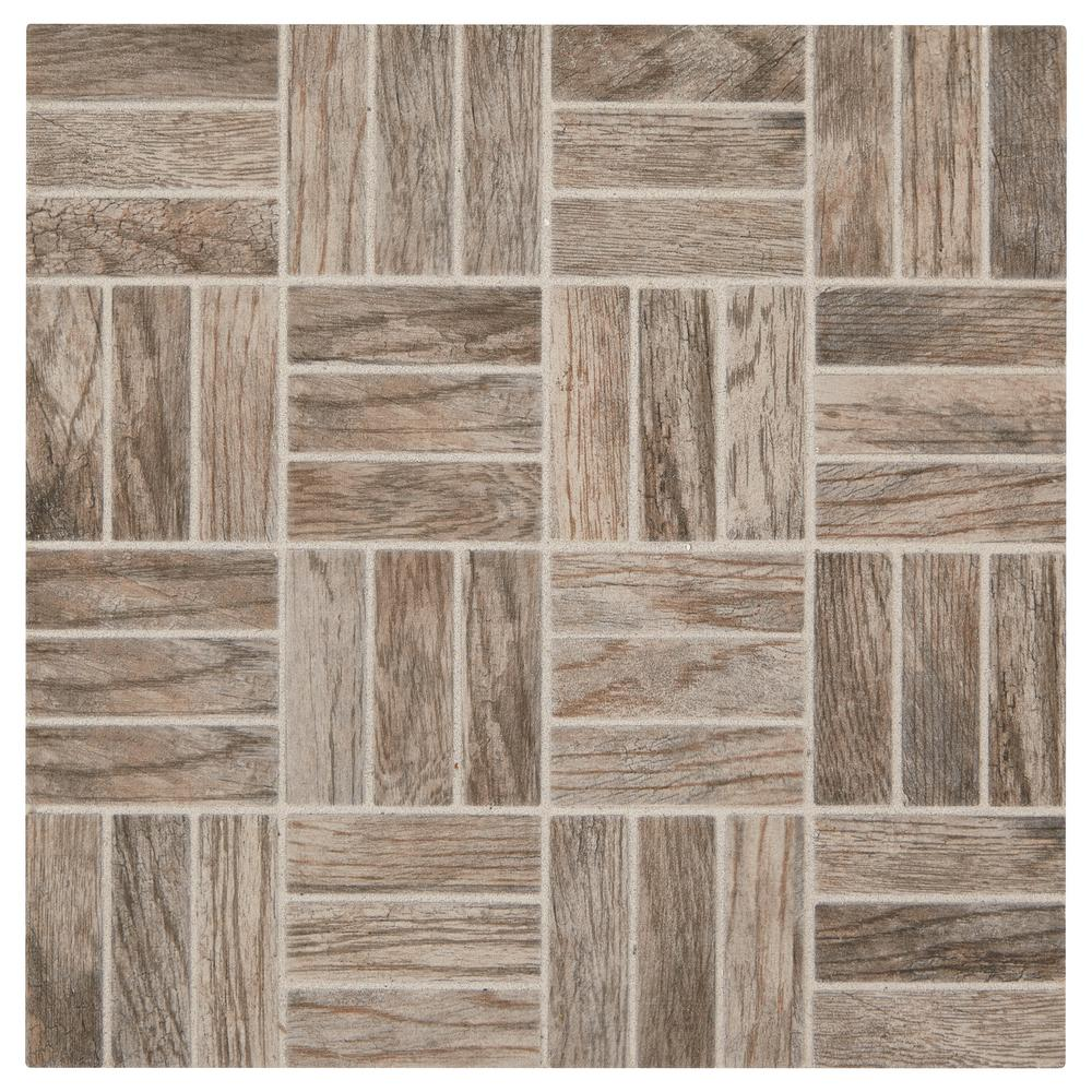 Marazzi Montagna Rustic Bay 12 In X 6 35 Mm Ceramic Lattice