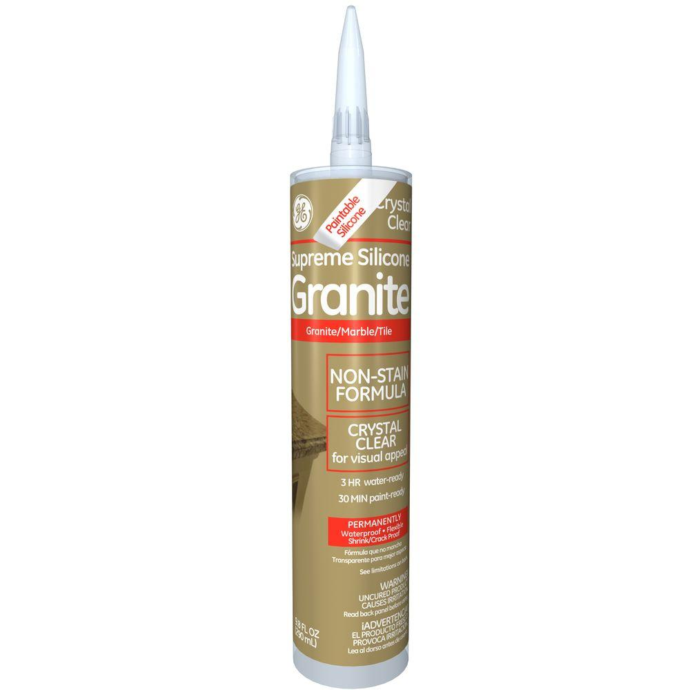 Crystal Clear Granite And Marble Caulk 12 Pack