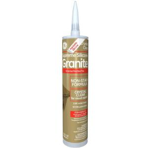 Crystal Clear Granite And Marble Caulk 12 Pack M90036 The Home Depot