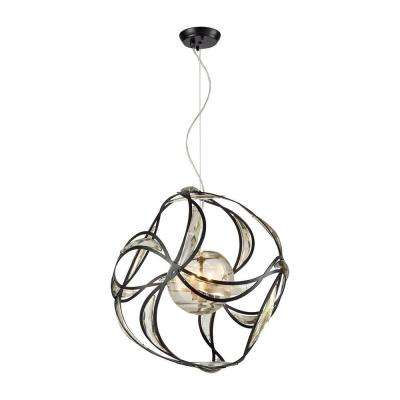 Oriona 3-Light Oil Rubbed Bronze Chandelier