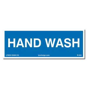 graphic relating to Wash Rinse Sanitize Printable Signs referred to as Lynch Indication 9 inside of. x 3 within. Sanitize Indication Released upon Extra