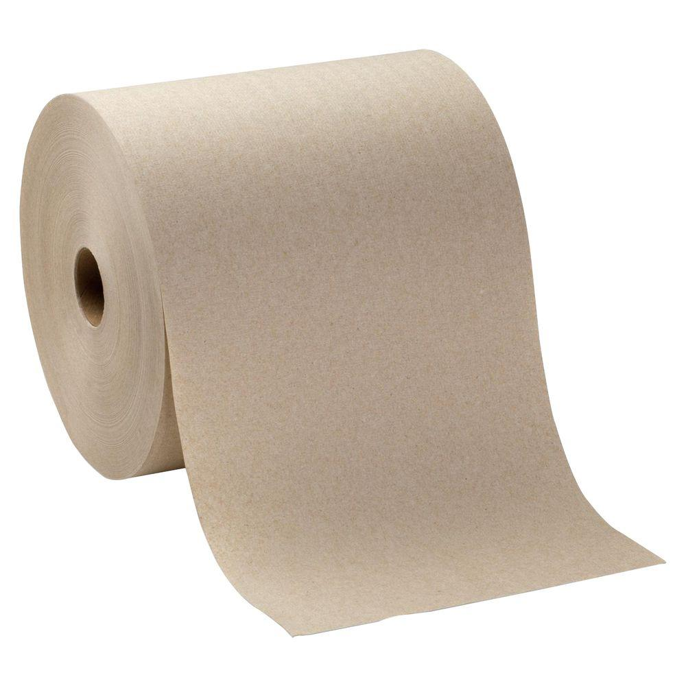 SofPull Brown Hardwound Roll Paper Towels (6 Rolls)