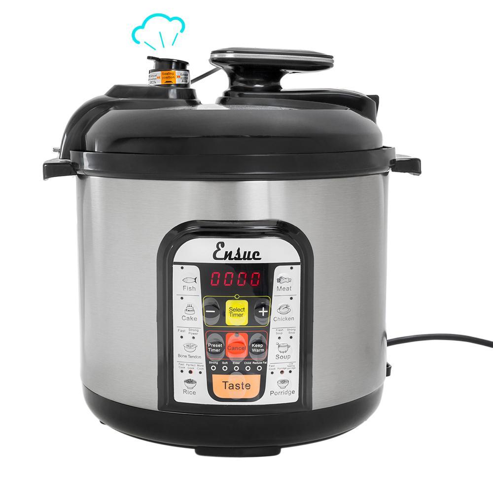 6 Qt. Multi-Functional 8-in-1 Pressure Cooker
