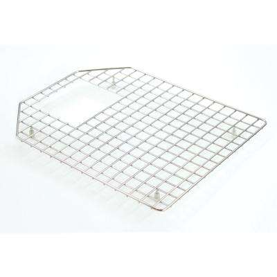 15.25 in. D x 18.5 in. W Sink Grid for GTDO3322 Left Bowl in Stainless Steel