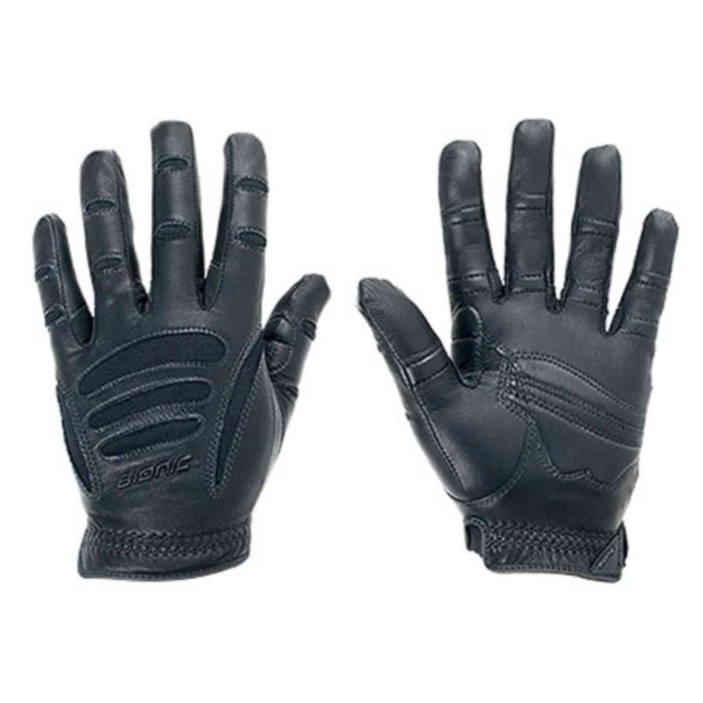 Men's Large Black Driving Gloves (Pair)