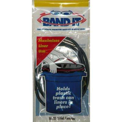 32 to 55 Gallon Band It Elastic Trash Bag Loops (Case of 36)