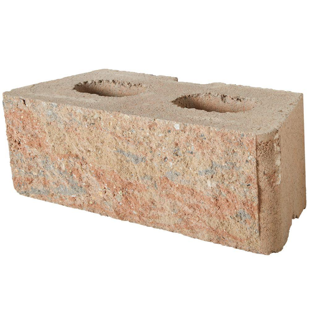 Pavestone RockWall Large 6 In. X 17.5 In. X 7 In. Palomino Concrete