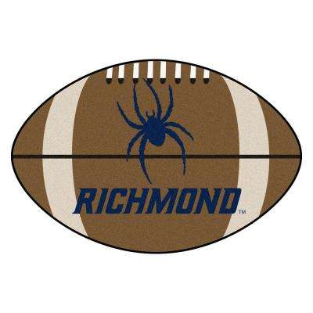 NCAA University of Richmond 20.5 in. 32.5 in. Football Mat Area Rug