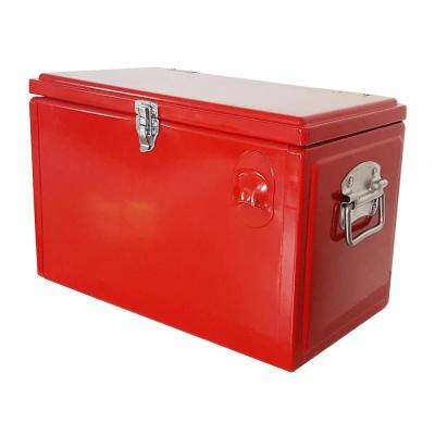 21 Qt. Picnic Cooler in Red