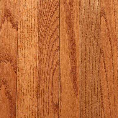 Laurel 3/4 in. Thick x 2-1/4 in. Wide Gunstock Oak (20 sq. ft. / case)