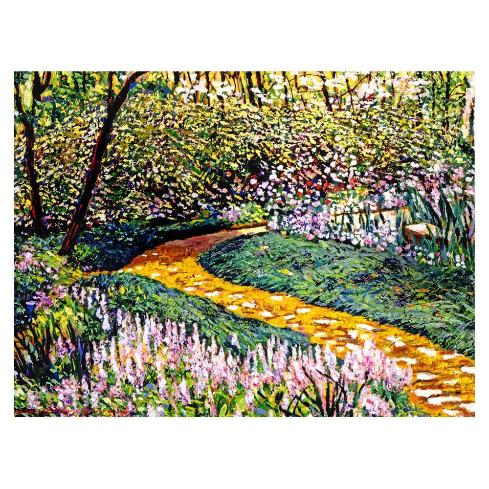 24 in. x 32 in. Deep Forest Garden Canvas Art