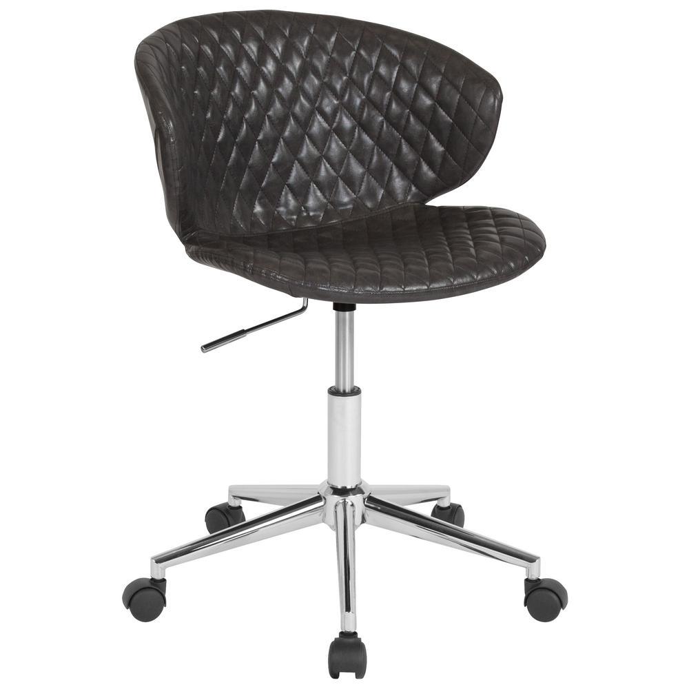 Flash Furniture Gray Vinyl Office/Desk Chair CGA-LF-232217-GR-HD