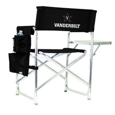 Vanderbilt University Black Sports Chair with Digital Logo