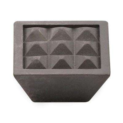 1.5 in. Oil-Rubbed Bronze Pyramids Knob