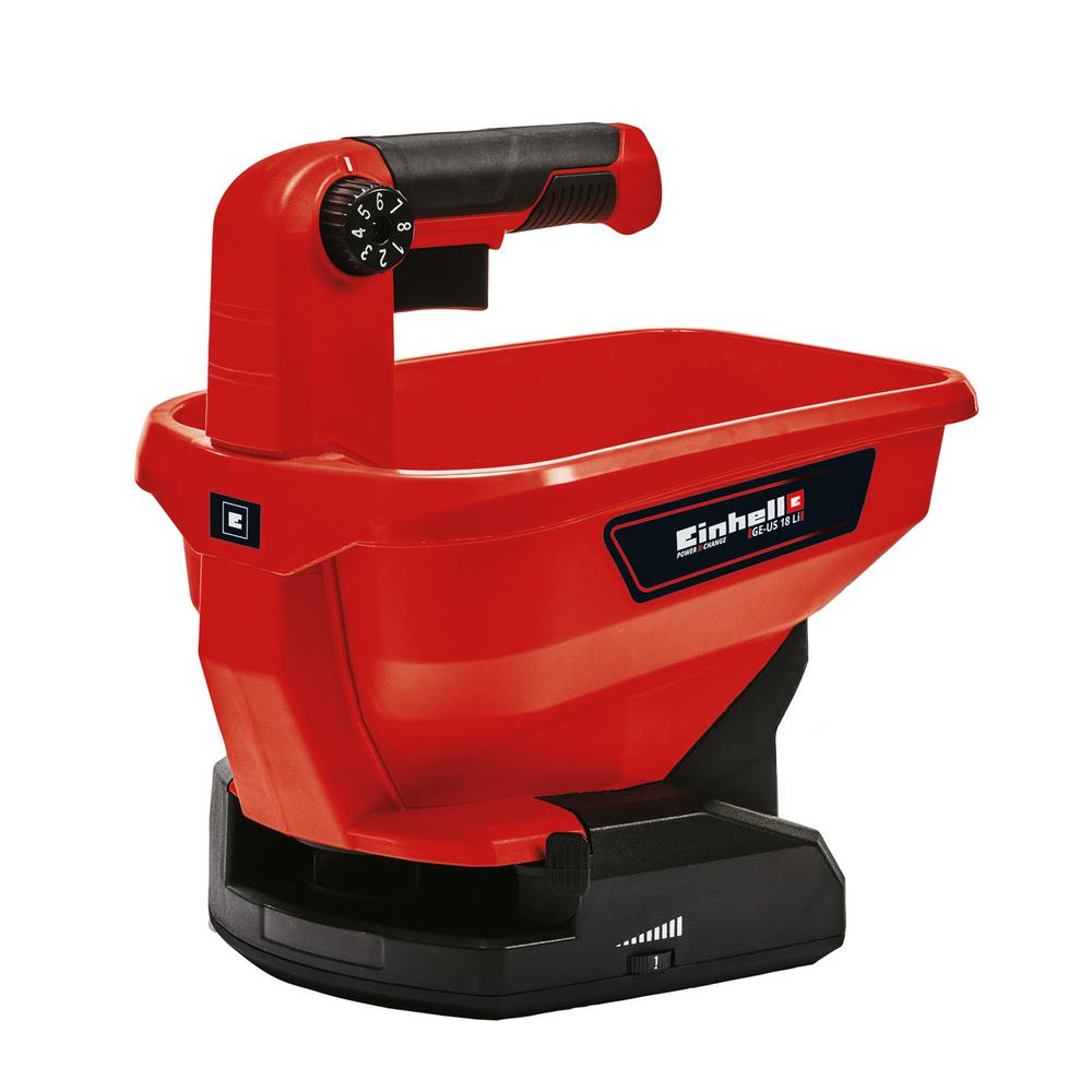 Einhell PXC 18-Volt Cordless All Season Hand-Held Spreader with 8600 sq. ft. Max Coverage (Tool Only)