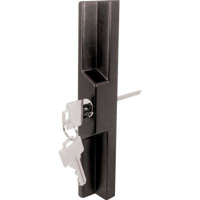 11-1/2 in. Universal Black Sliding Glass Door Outside Pull
