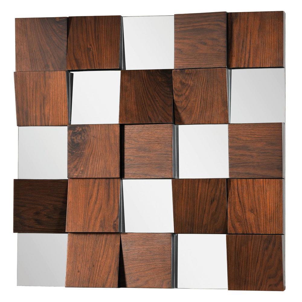 Westside 36 in. x 36 in. Unframed Wall Mirror