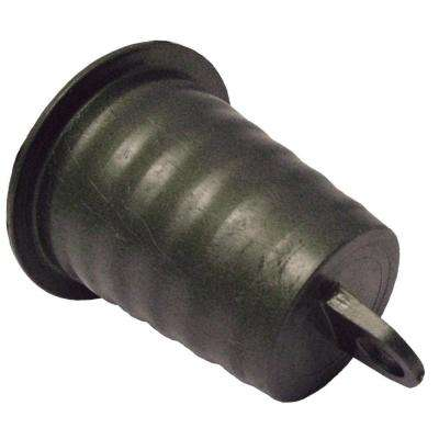 3 in. PVC Plug with Pull Tab