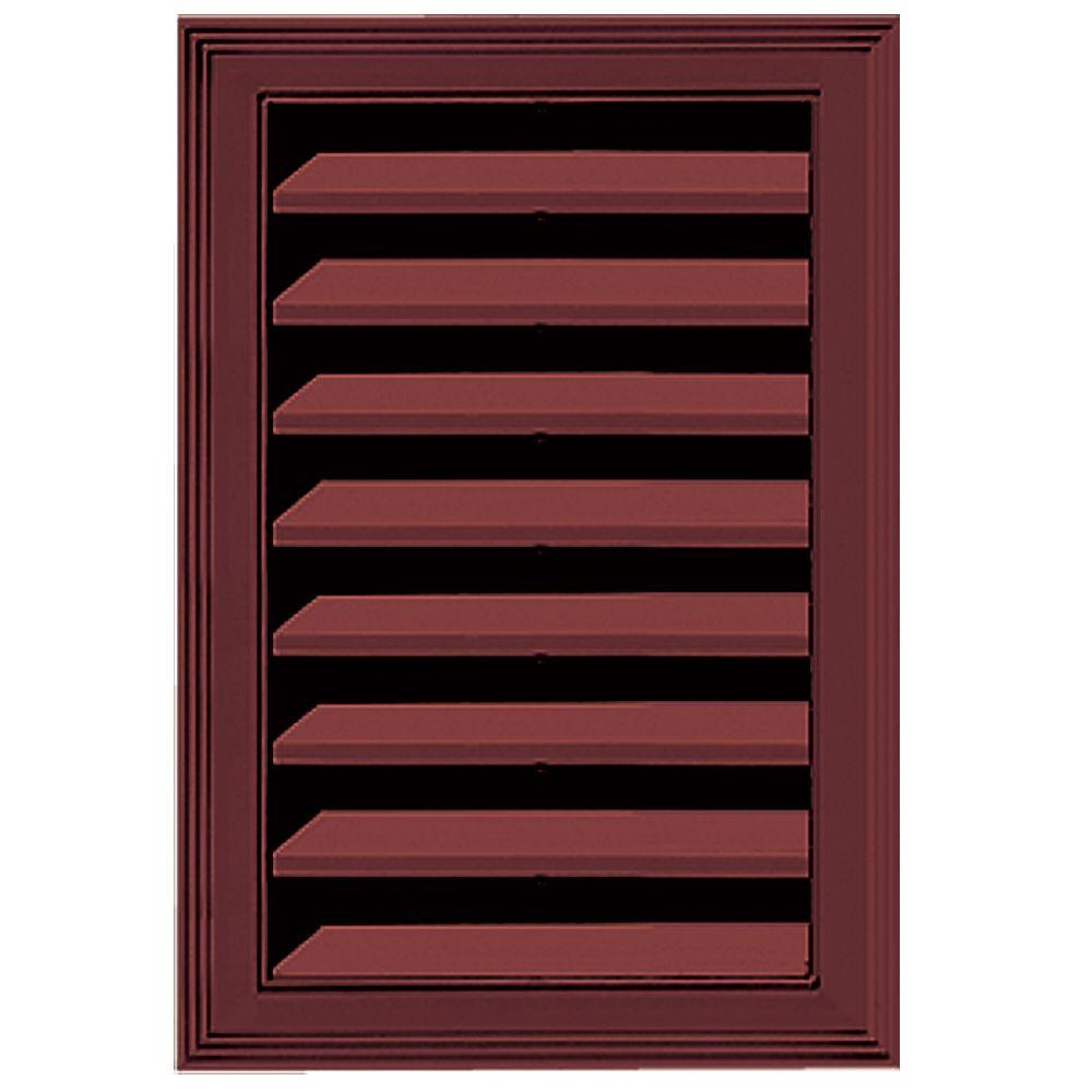 Builders Edge 12 in. x 18 in. Replacement Gable Vent #078 Wineberry