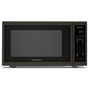 Kitchenaid 1 5 Cu Ft Countertop Microwave In Black