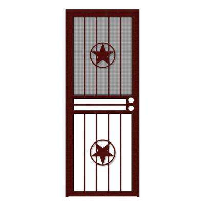 Lone Star Recessed Mount Outswing Security Door