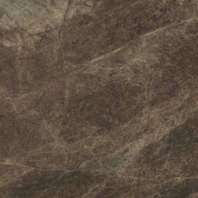 5 in. x 7 in. Laminate Countertop Sample in 180fx Slate Sequoia with Etchings Finish
