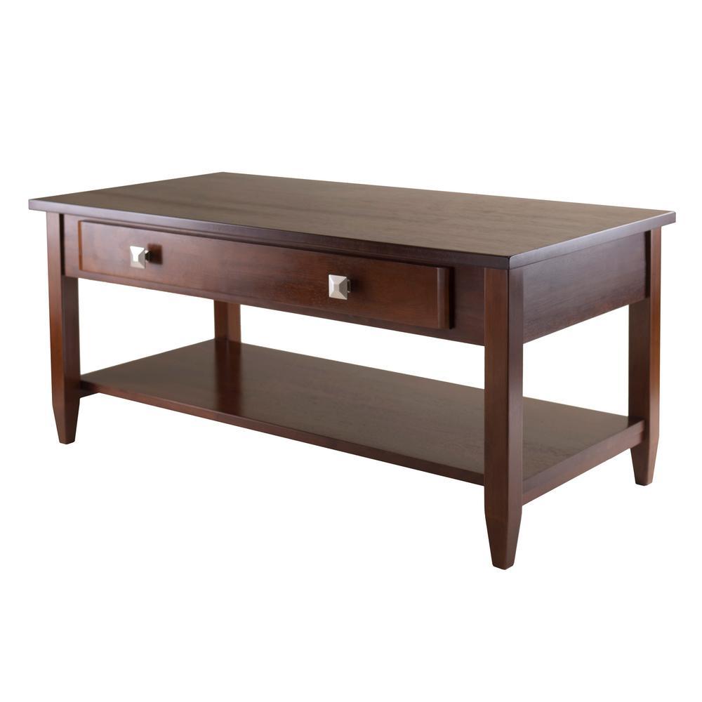 Winsome Wood Richmond Walnut Coffee Table