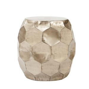 Home Decorators Collection Honeycomb Burnished Truffle End Table by Home Decorators Collection
