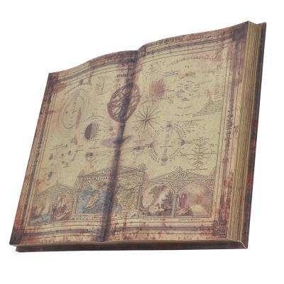 """32"""" Brown Map Wall Decoration"""