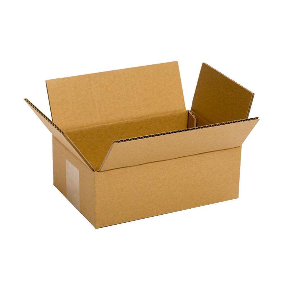 Pratt Retail Specialties 8 in. L x 6 in. W x 4 in. D Box (25-Pack)