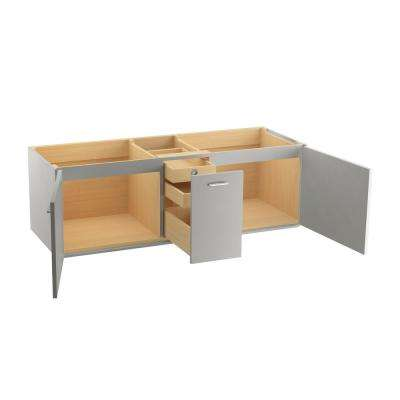 59 61 In Floating Double Sink Vanities Without Tops