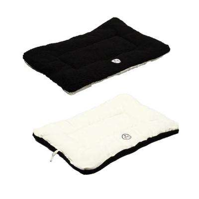 Eco-Paw Large Black and White Reversible Pet Bed