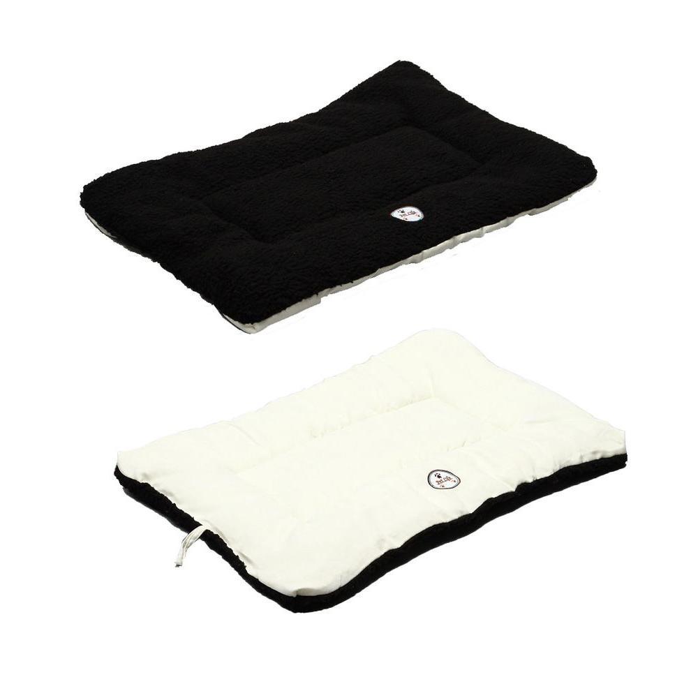 Eco-Paw Medium Black and White Reversible Pet Bed