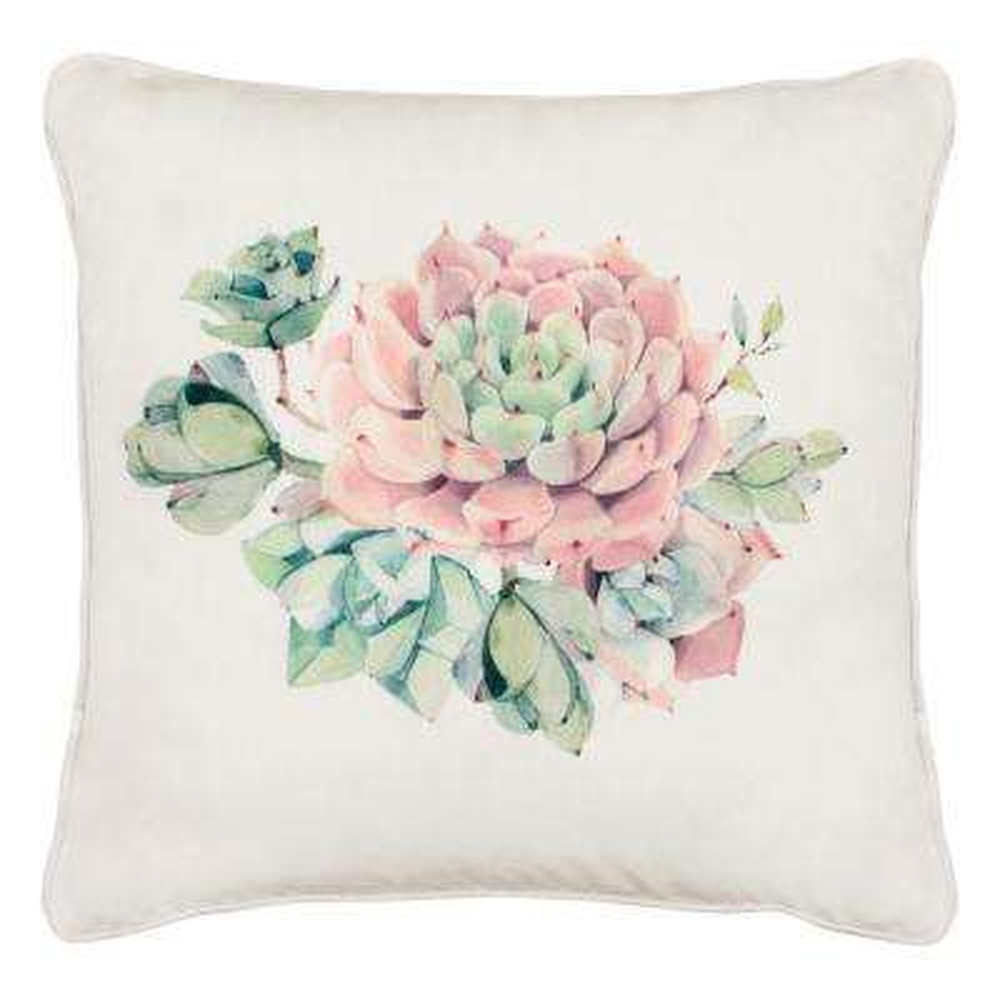 Desert Sunset 18 in. x 18 in. Standard Decorative Pillow