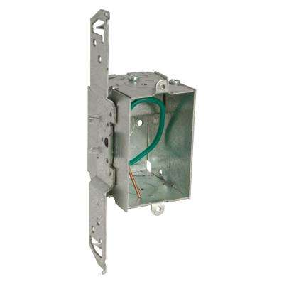 Stab-It 3 x 2 in. Metal Switch Electrical Box (50-Pack)