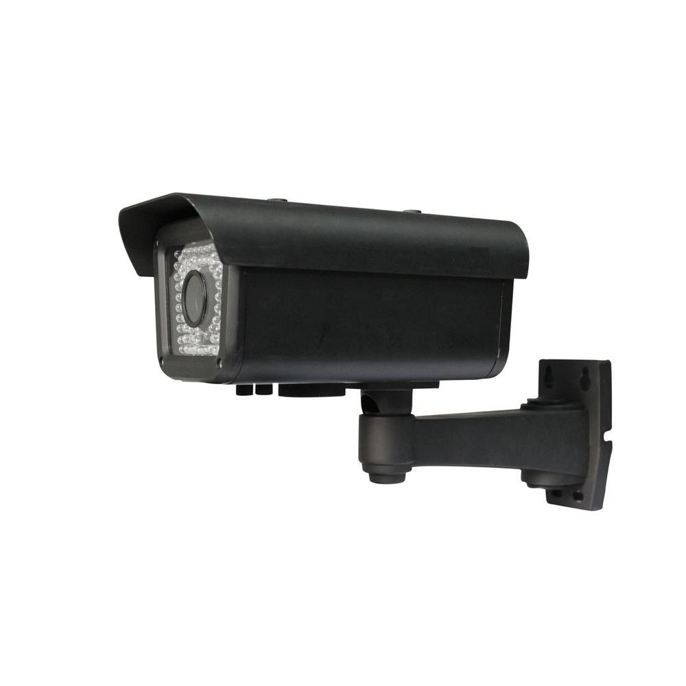Wired Indoor/Outdoor Sony CCD Automatic Number Plate Recognition IR Camera with