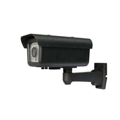 Wired Indoor/Outdoor Sony CCD Automatic Number Plate Recognition IR Camera with 650TVL Resolution and 9-22 mm Lens