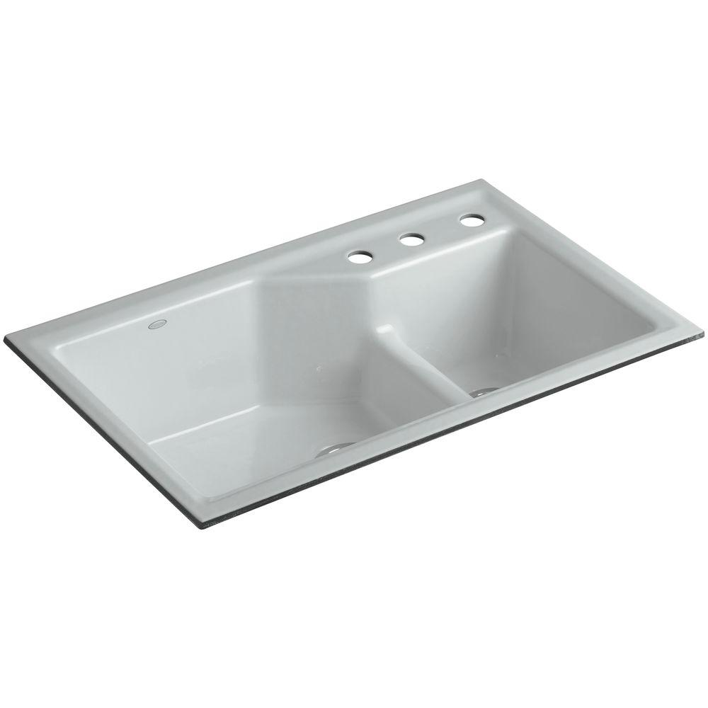 Biscuit Colored Kitchen Sink