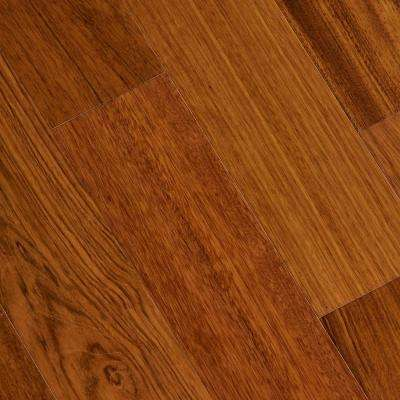 Jatoba Natural Dyna 1/2 in. T x 5 in. W x Varying Length Engineered Exotic Hardwood Flooring (26.25 sq. ft. / Case)