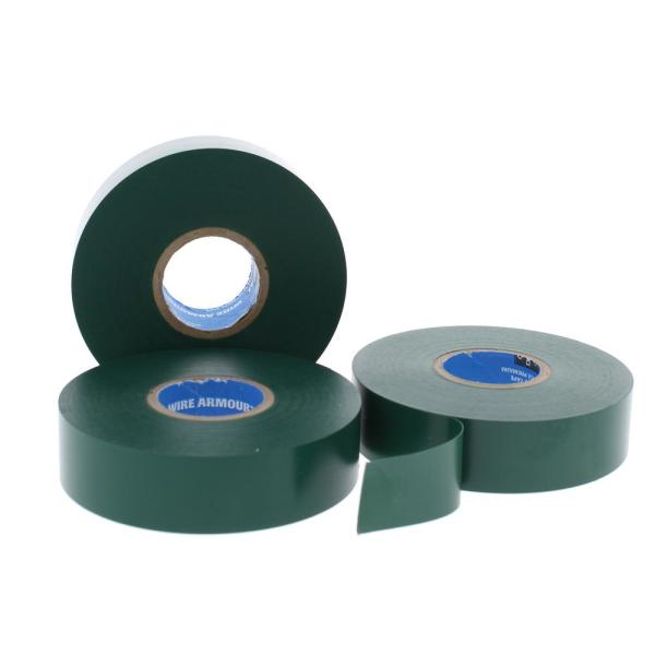 Wire Armour 3/4 in. x 66 ft. Premium Vinyl Tape, Green (10-Pack)