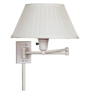 White Wall Swing Arm Lamp