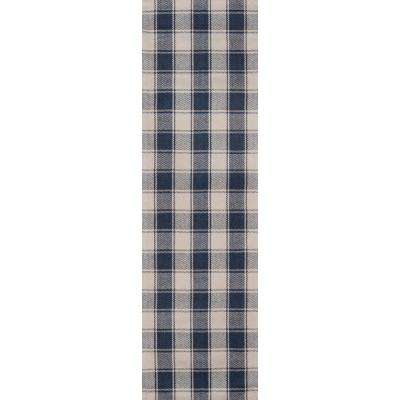Charles Navy 2 ft. 3 in. x 8 ft. Runner