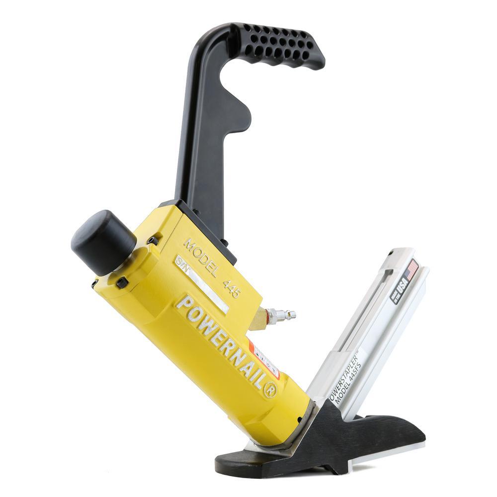15.5-Gauge Pneumatic Hardwood Flooring Power Stapler